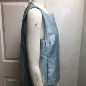 MaxMara Tops - Max Mara light sky blue silk top & pants size 12